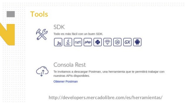 Introducción a Open Platform - La API Rest de Mercado Libre.