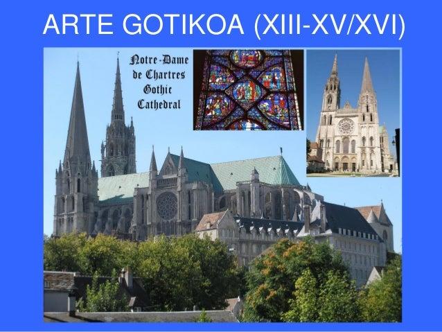 ARTE GOTIKOA (XIII-XV/XVI)
