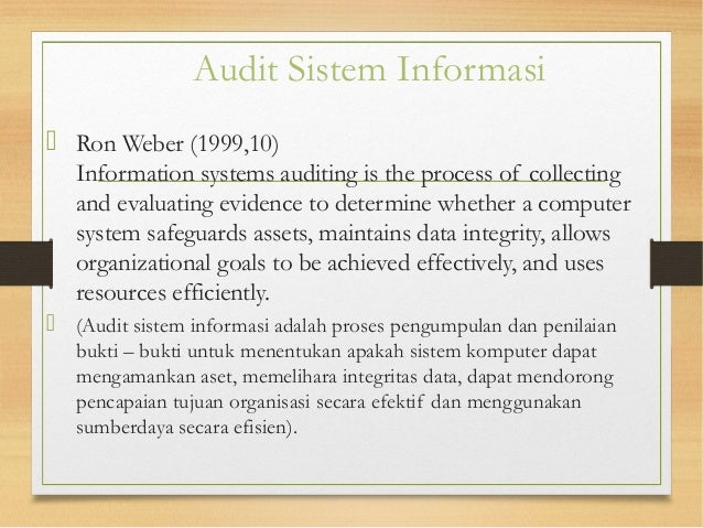 Audit Sistem Informasi Ebooks