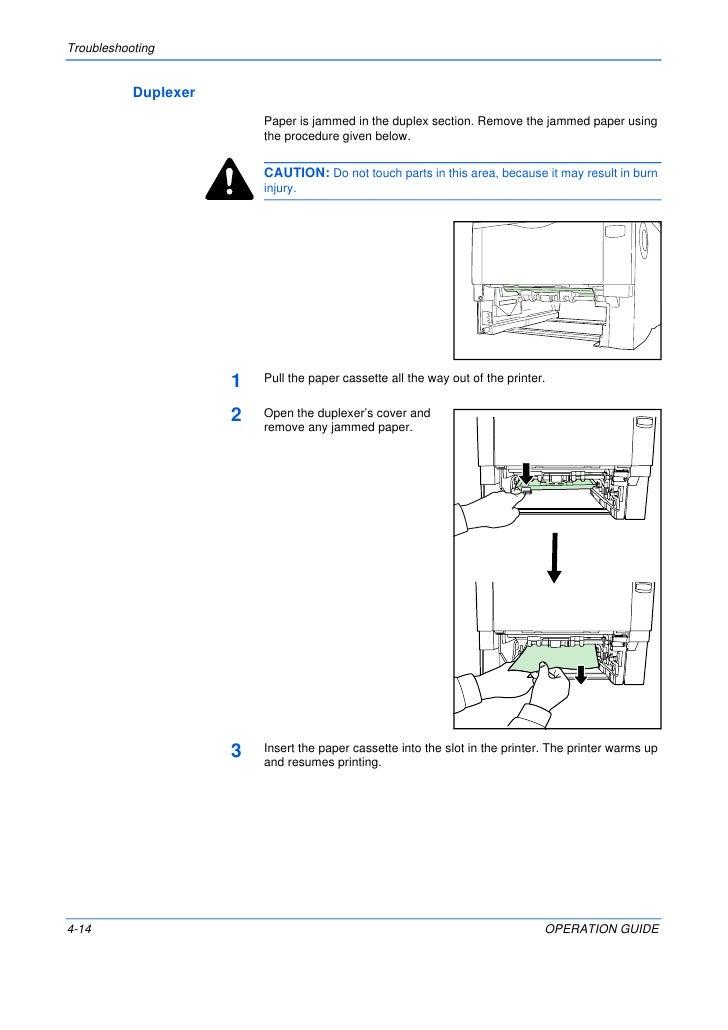 kyocera duplexer du 1 service repair manual
