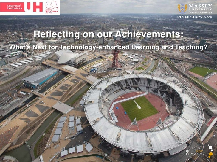 Reflecting on our Achievements:What's Next for Technology-enhanced Learning and Teaching?