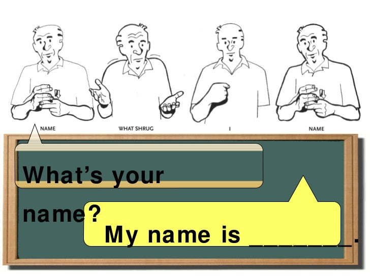 how to say hello my name is