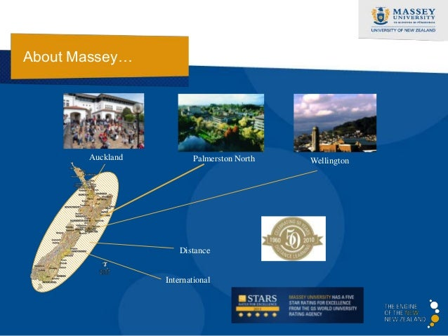 About Massey…       Auckland           Palmerston North   Wellington                      Distance                  Intern...