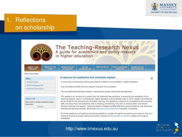 1. Reflections   on scholarship  The fifth dimension…             Discovery                                 Scholarship   ...