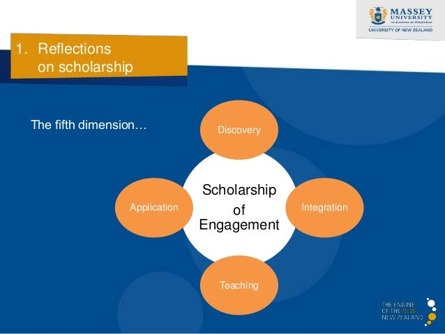 1. Reflections   on scholarship    In sum, teachers who are more likely to be engaging in    scholarship of teaching….