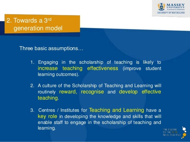 2. Towards a 3rd   generation model  The crisis of traditional  centres / institutes…