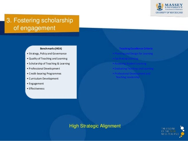 3. Fostering scholarship   of engagement