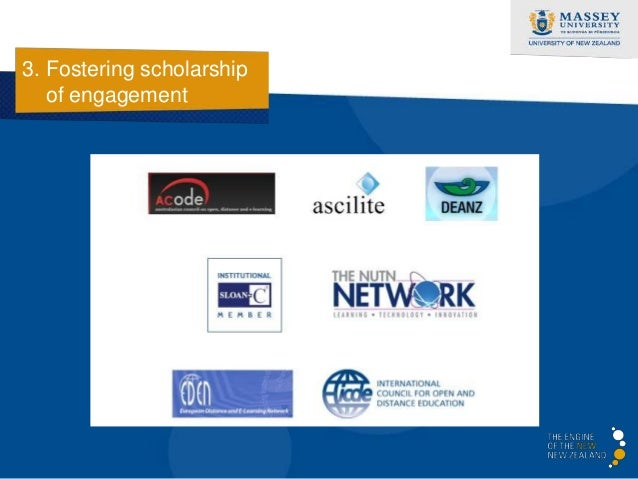 3. Fostering scholarship   of engagement                      http://akoaotearoa.ac.nz/
