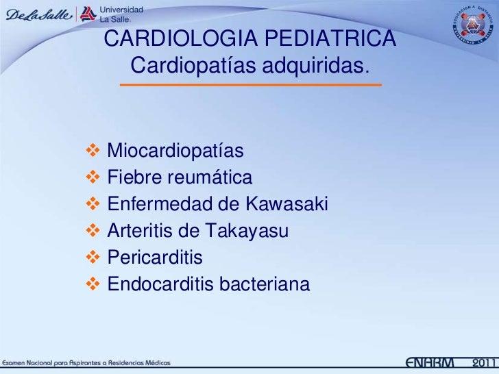 1.  cardiolgía 1 Pediatría Slide 3