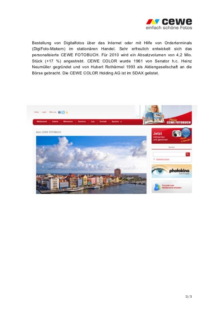 Bestellung von Digitalfotos über das Internet oder mit Hilfe von Orderterminals(DigiFoto-Makern) im stationären Handel. Se...