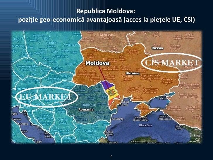 Climatul Investiţional al Republicii Moldova Slide 2