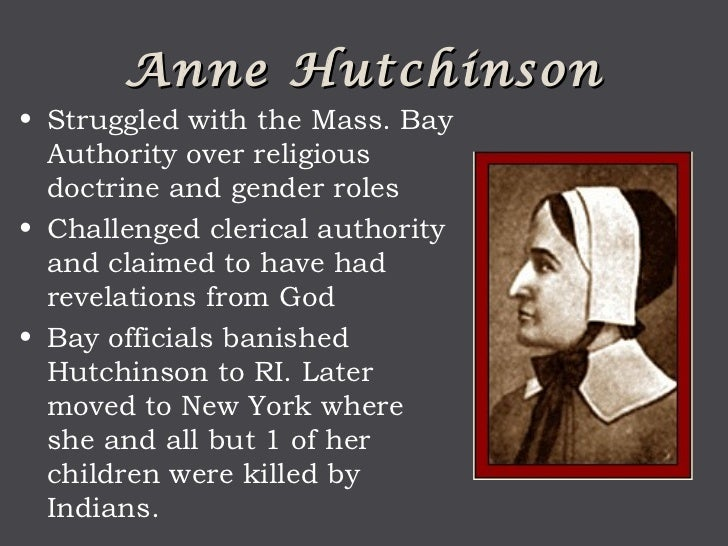 anne hutchinson a pioneer of feminism and religious freedom essay Upheld equally as a symbol of religious freedom, liberal thinking and christian feminism, anne hutchinson is a she was a pioneer in the field of.