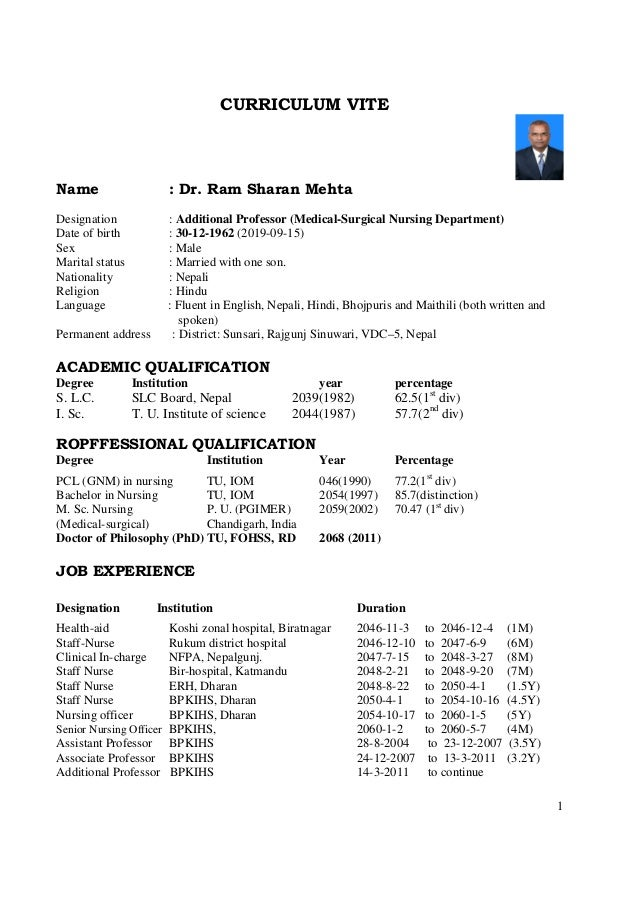 Resume Format In Nepal Mba International Business Fresher Resume