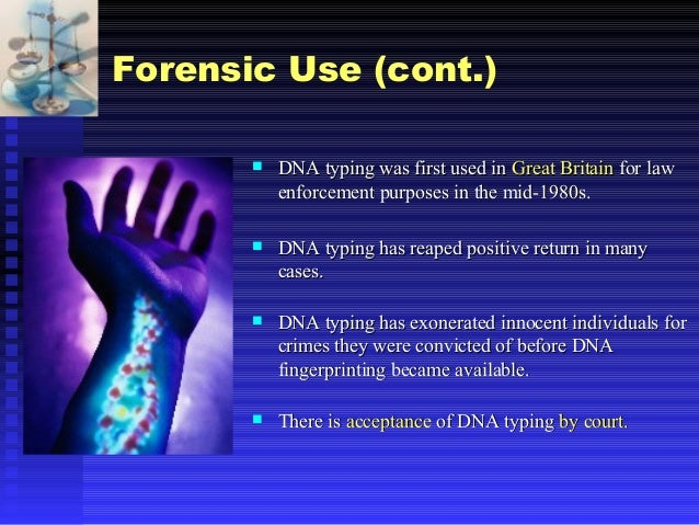 the controversy of dna fingerprinting in the law enforcement Dna fingerprinting - biology bibliographies dna testing: the controversy of using it dna fingerprinting: a powerful law-enforcement tool with serious social.