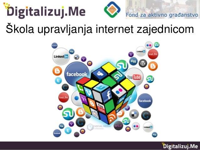 Škola upravljanja internet zajednicom