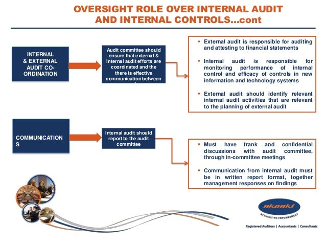 internal audit as an effective internal Could implement principle 71 of king iii states that the board should ensure that there is an effective risk-based internal audit function principle.
