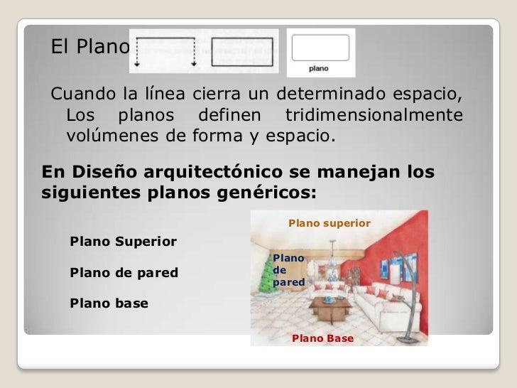 1 el dise o y sus elementos for Elementos de un plano arquitectonico