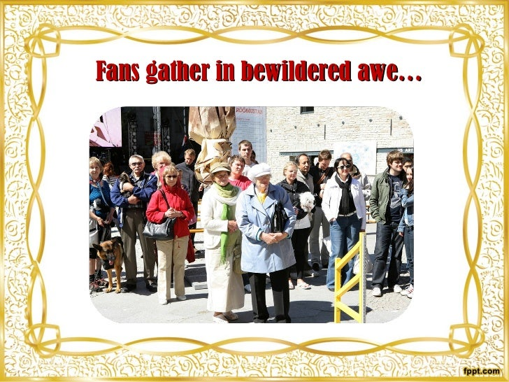 Fans gather in bewildered awe…