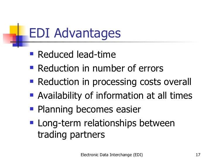 1 electronic data interchange (edi)
