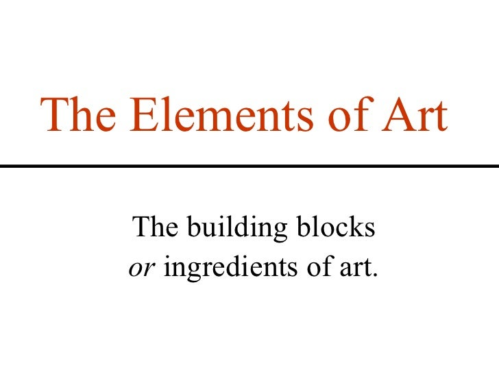 Elements and Principles of Visual Design Slide 2