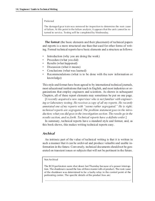 1 engineer s guide to technical writing