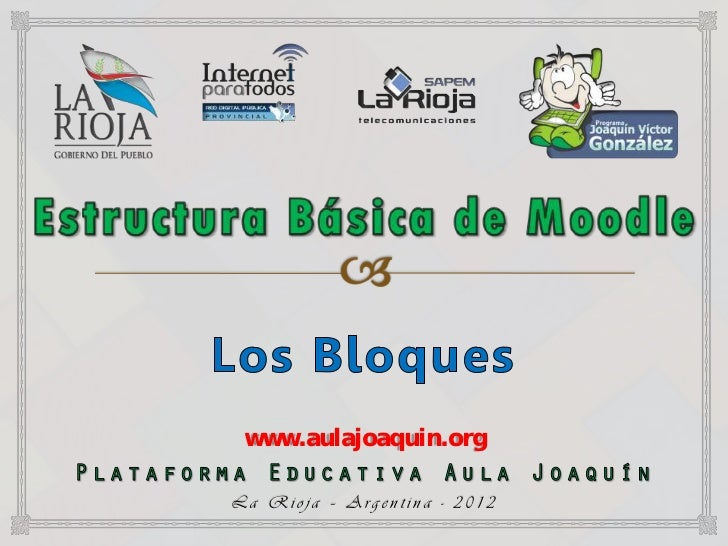 www.aulajoaquin.orgLa Rioja – Argentina - 2012