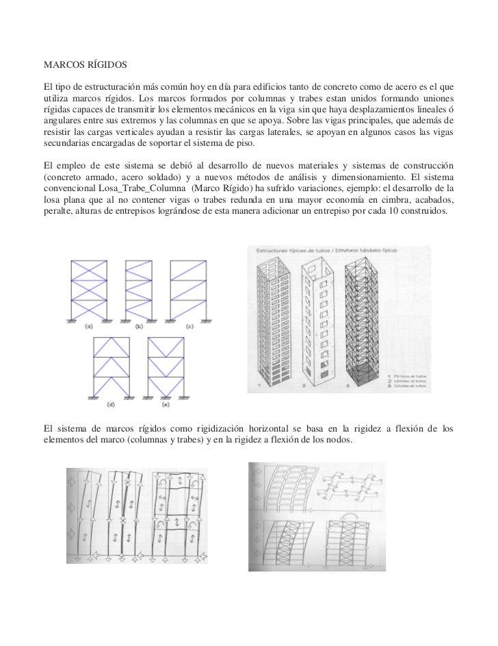 1 Estructuracion de edificios en marcos de acero
