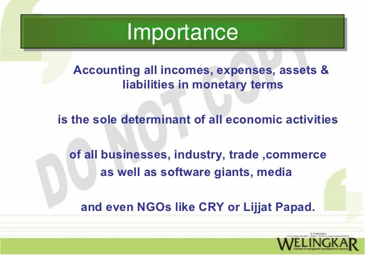 Financial Accounting: Introduction to Financial Accounting
