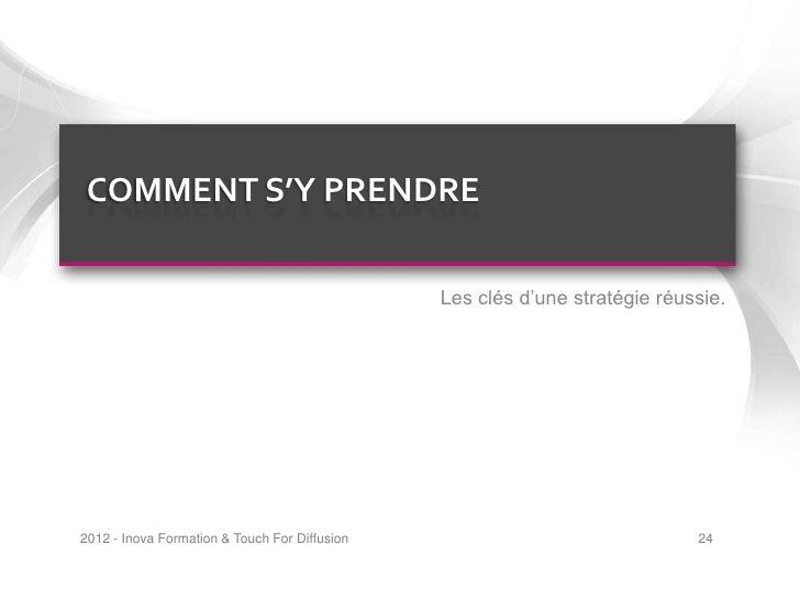 COMMENT S'Y PRENDRE                                               Les clés d'une stratégie réussie.2012 - Inova Formation ...