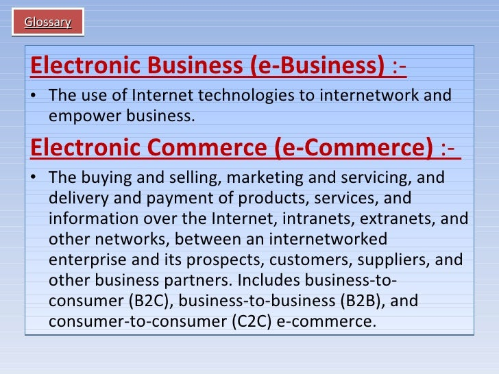 difference between electronic commerce over extranet and intranet How the e-business uses the internet, intranet and extranet to enhance  •the  message is sent over vpn via vpn tunnel and this process is known as  tunneling next a b  intranets vs extranets - what's the difference.