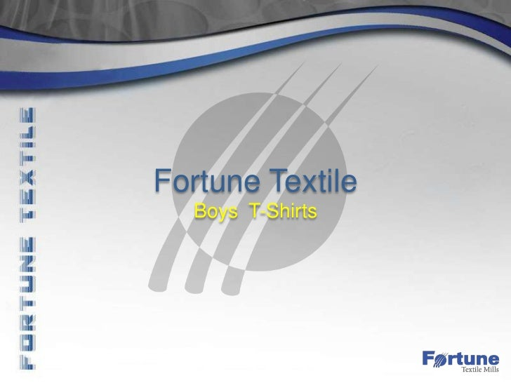Fortune Textile  Boys T-Shirts