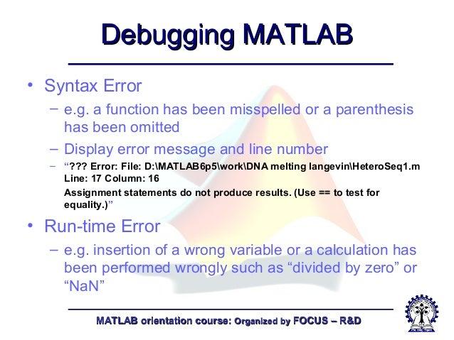 Matlab-fundamentals of matlab-1