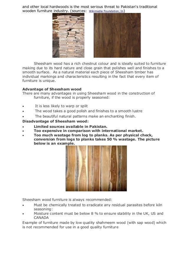 quality furniture  32. 1 furniture industry in pakistan research apper