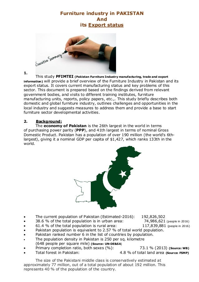 An export led growth strategy pakistan essay