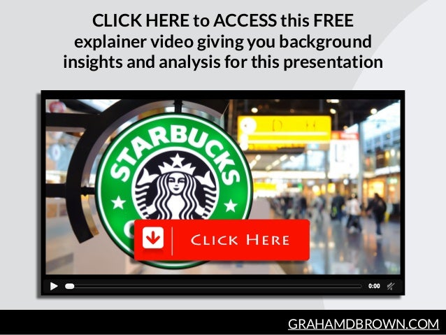 GRAHAMDBROWN.COM CLICK HERE to ACCESS this FREE explainer video giving you background insights and analysis for this prese...