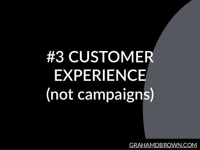 GRAHAMDBROWN.COM #3  CUSTOMER