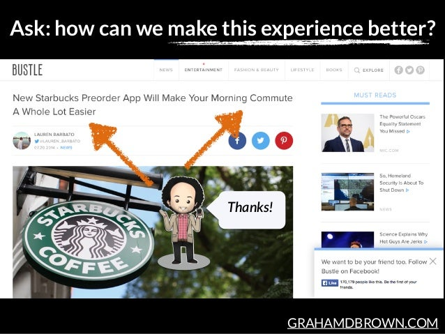 GRAHAMDBROWN.COM Ask: how can we make this experience better? Thanks!
