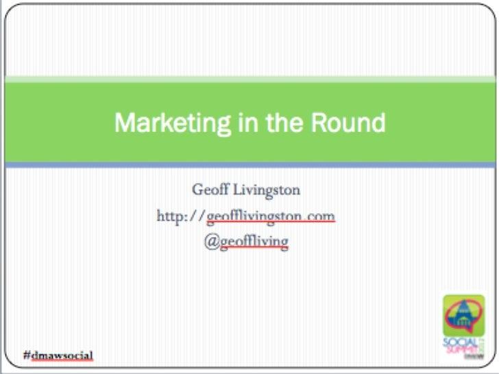 Geoff Livingstongeofflivingston.com   @geoffliving
