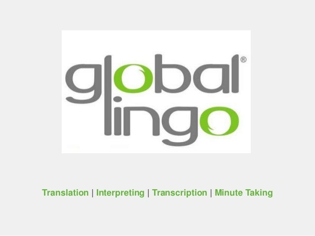 Translation | Interpreting | Transcription | Minute Taking