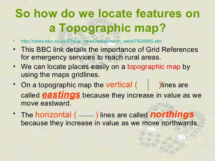 Grid and Area references Slide 3