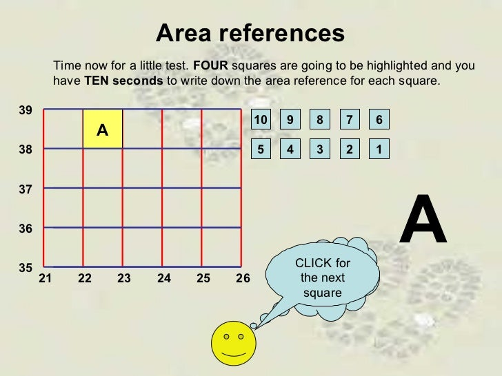 how to read alphanumeric grid