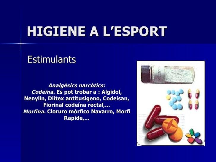1.Higiene A L'Esport