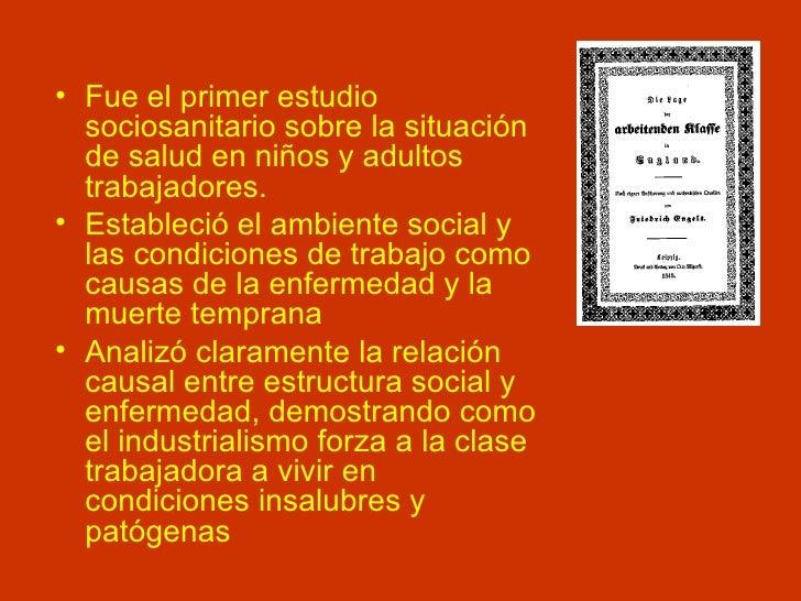 <ul><li>Fue el primer estudio sociosanitario sobre la situación de salud en niños y adultos trabajadores. </li></ul><ul><l...