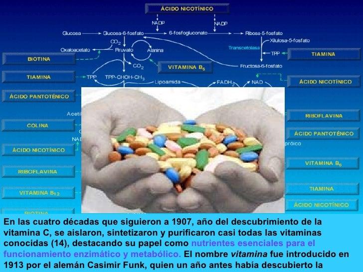 En las cuatro décadas que siguieron a 1907, año del descubrimiento de la vitamina C, se aislaron, sintetizaron y purificar...