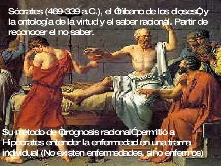 """Sócrates (469-339 a.C.), el """"tábano de los dioses"""", y la ontología de la virtud y el saber racional. Partir de reconocer e..."""
