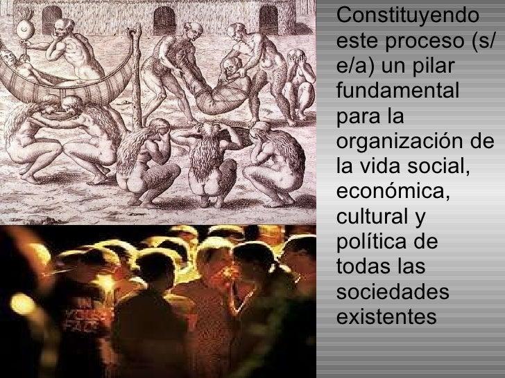 <ul><li>Constituyendo este proceso (s/e/a) un pilar fundamental para la organización de la vida social, económica, cultura...