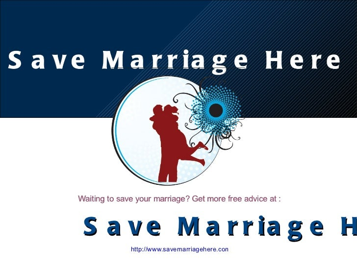 http://www.savemarriagehere.com Waiting to save your marriage? Get more free advice at : Save Marriage Here