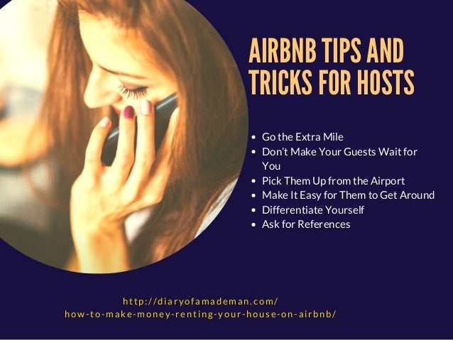 Airbnb hosting tips and tricks how to make money renting for Home building tips and tricks
