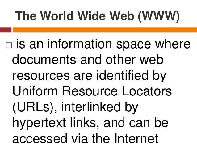 Web 1.0 (early 90s)  when the World Wide Web was created by Tim Berners-Lee, most web pages were static. Static (stationa...