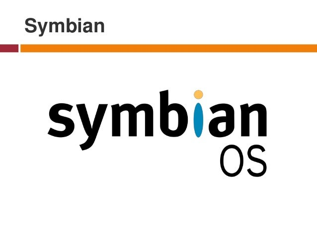 Symbian - was a mobile operating system and computing platform designed for smartphones. Symbian was originally developed ...